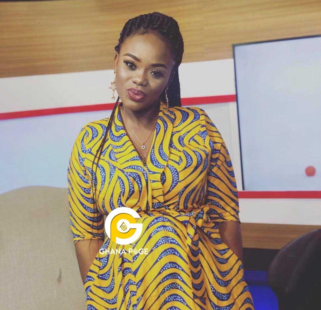 Akua Ghana most beautiful pregnant - 4th wife of Dr. Kwaku Oteng; Akua GMB pregnant with 3rd child