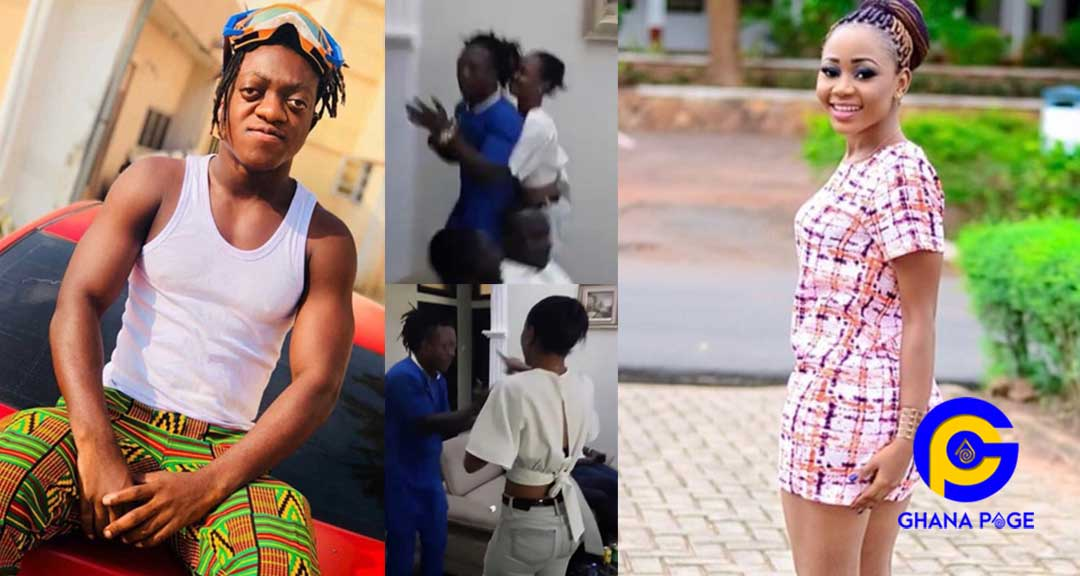 Akuapem Poloo fight Sumsum Ahofe - Akuapem Poloo & Sumsum Ahofe exchange blows when they finally met