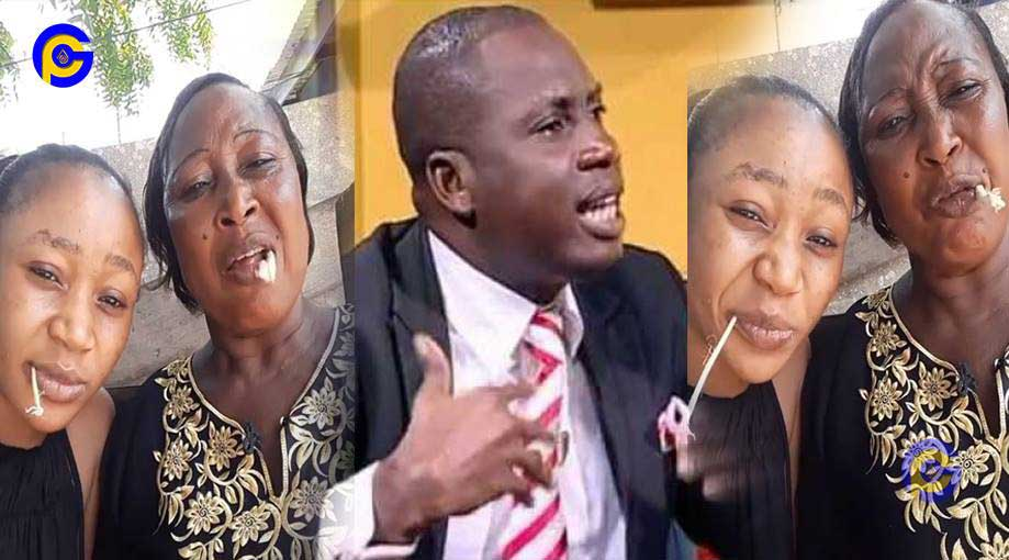 Akuapem Poloo mother insults Counselor Lutterodt - Stupid animal-Akuapem Poloo's mother insults Counselor Lutterodt