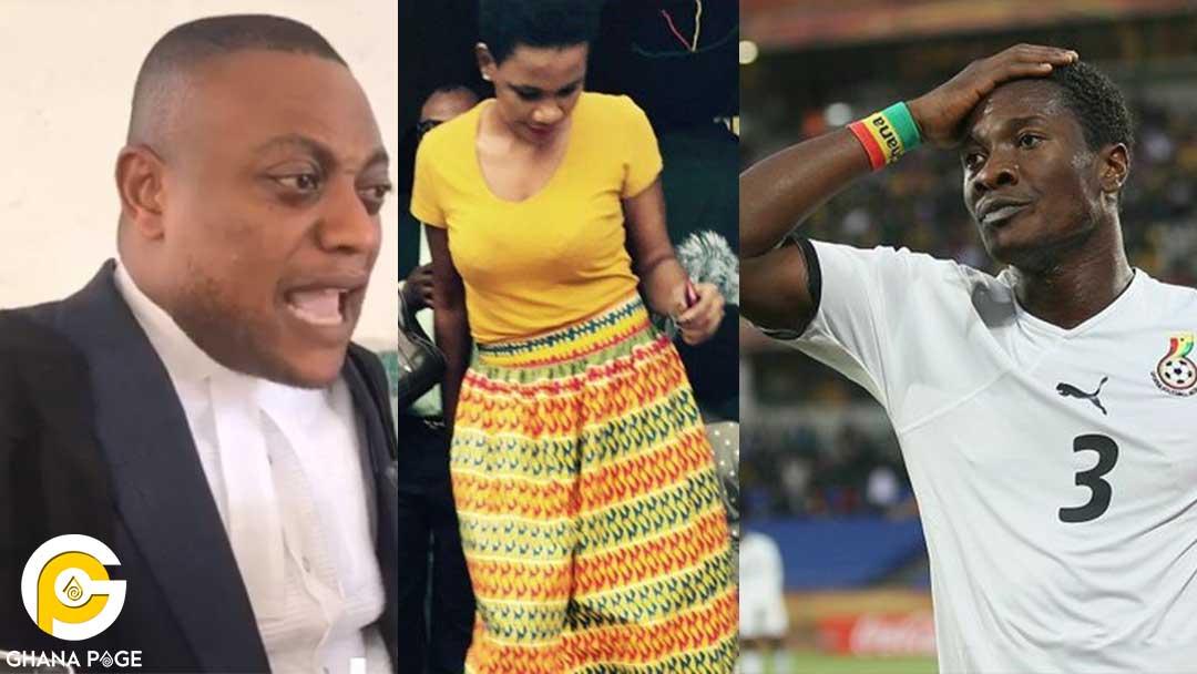 Asamoah Gyan Maurice Sarah Kwablah - Maurice Ampaw describes Asamoah Gyan as a liar, evil and greedy after losing Sarah Kwablah's rape case