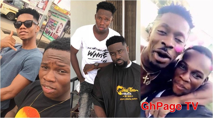 CELEBRITY BARBER - Shatta Wale, Sarkodie pay 1500, 500 cedis respectively for their haircut