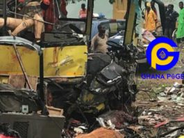Two feared dead after been involved in an accident at Kwahu