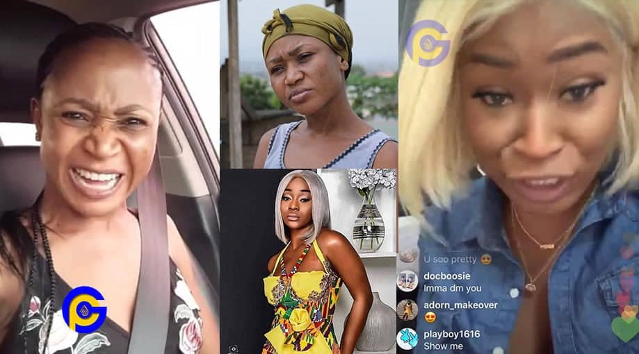 EFIA ODO AKUAPEM POLOO VIDEO - Efia Odo fires back at Akuapem Poloo