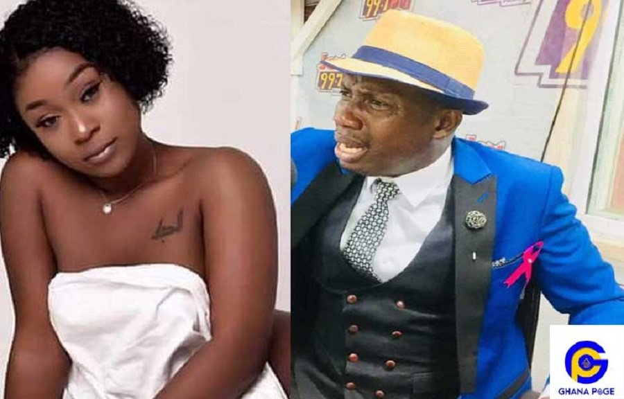 EFIA ODO COUNSELOR NUDE - Where is your mother? Counselor Lutterodt asks Efia Odo