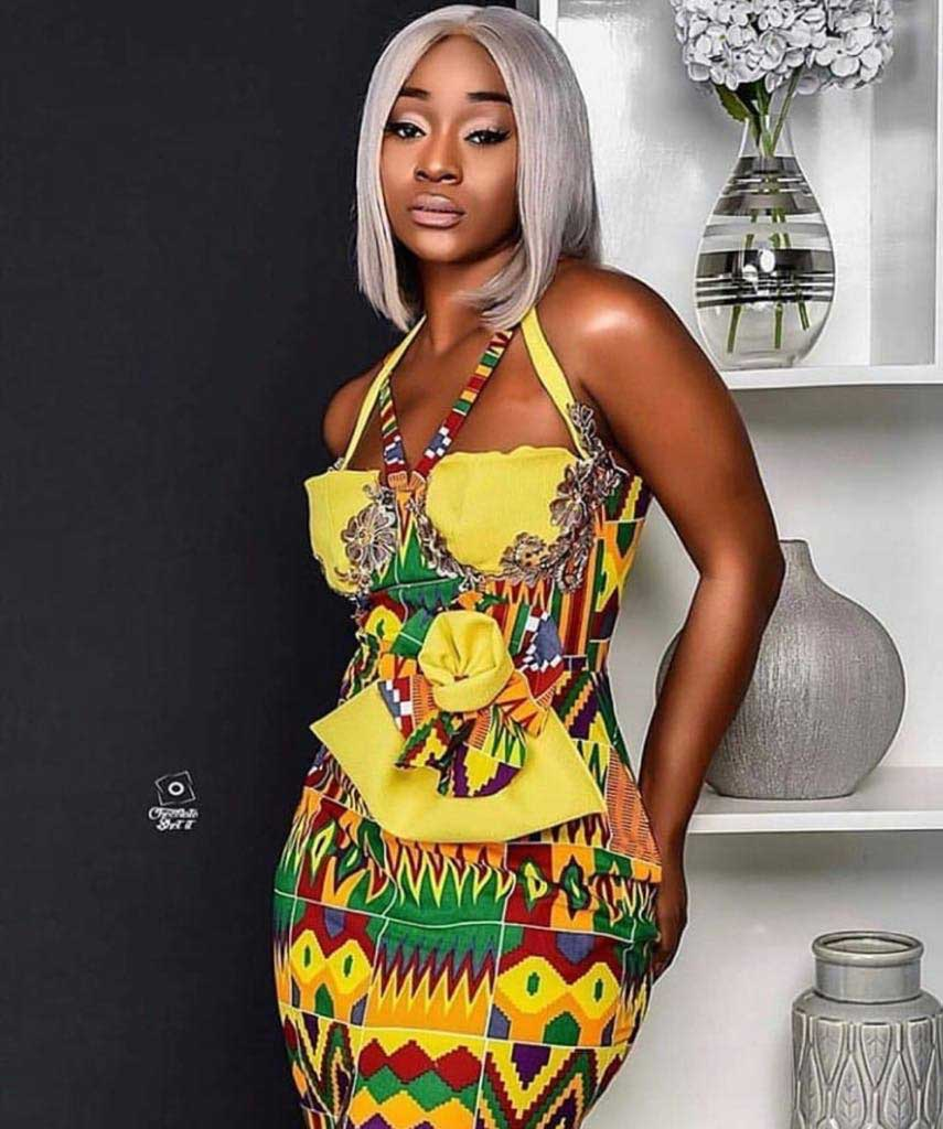 Efia Odo 1 - How Ghanaian celebs celebrated Independence Day with gorgeous photos