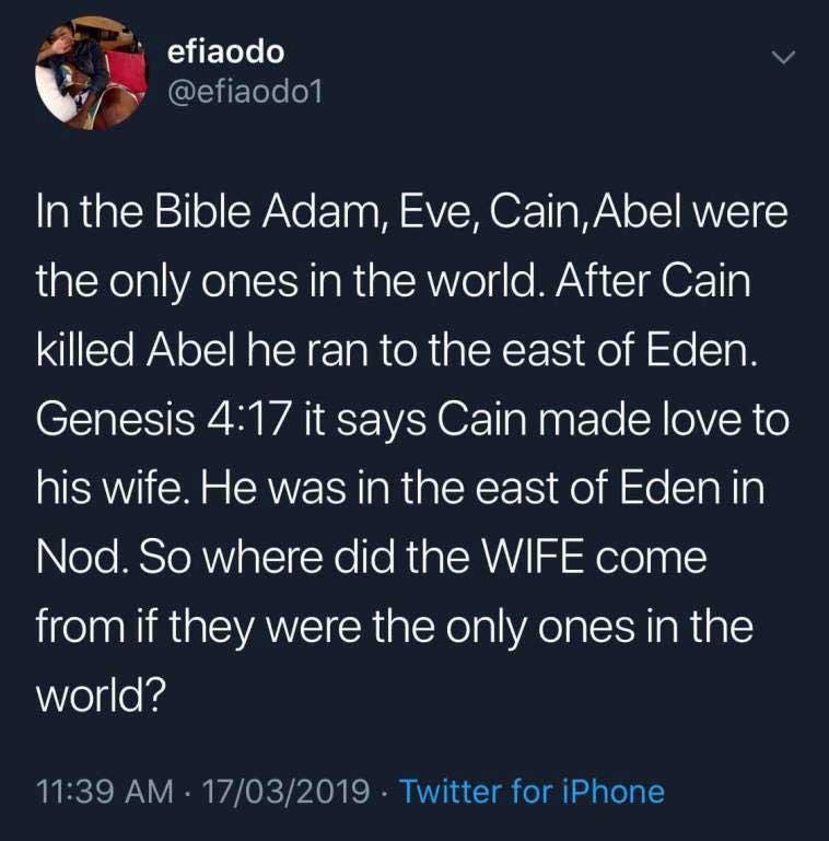 Efia Odo bible 1 - I believe in God, not the Bible-Efia Odo