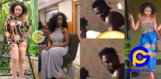 Busted: This is the Kumawood actress who was 'chop' by actor, Kobby on a toilet seat on set [Photos]