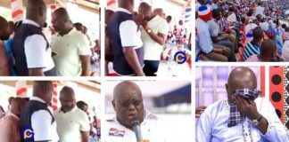 Video of Ken Agyapong crying at NPP grounds pops up few days after he quit politics [Watch]