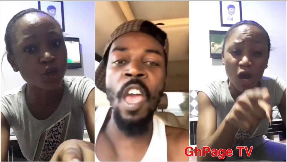Kwaw Kesse Akuapem Poloo - Kwaw Kesse insults Akuapem Poloo; she angrily replies back