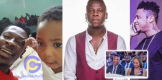 Video:Majesty could be Stonebwoy, John Paintsil or my son-Ara B tells Shatta Wale to do DNA test