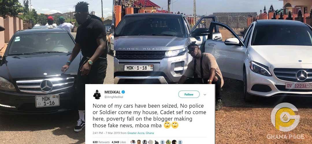 Medikal 1 - Medikal denies story of military storming his house
