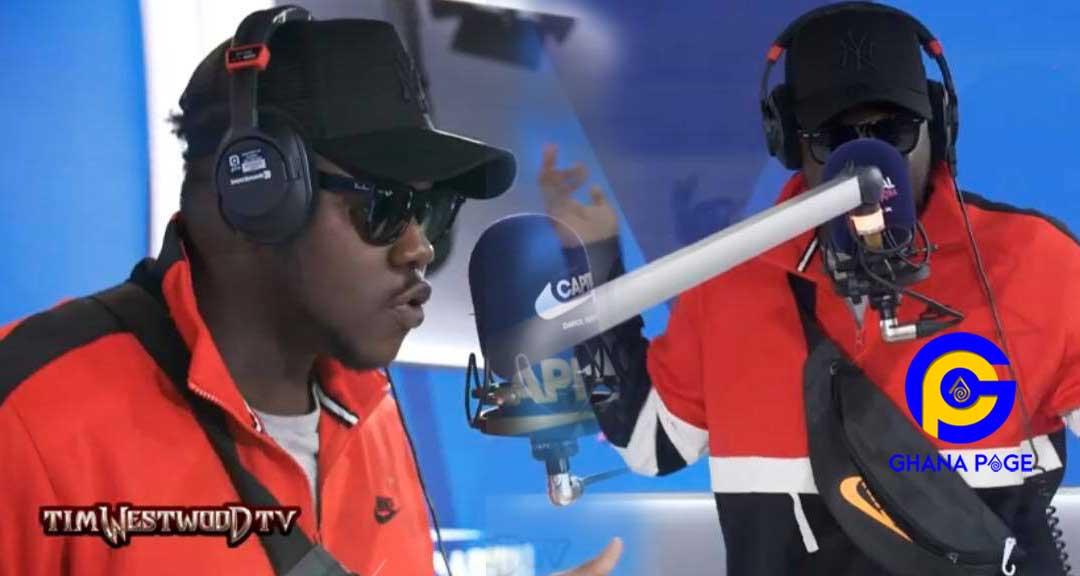 Medikal Tim Westwood TV - Medikal delivers a dope freestyle about Africa on Tim Westwood TV