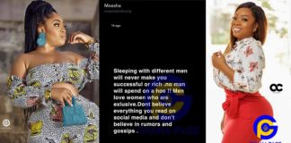 Sleeping with different men will never make you rich- Moesha Boduong gives relationship tips to women