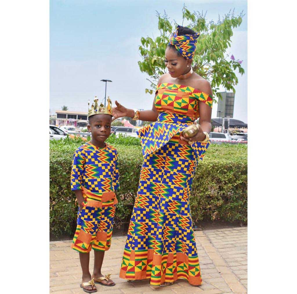 Mzbel and Son 1 - How Ghanaian celebs celebrated Independence Day with gorgeous photos