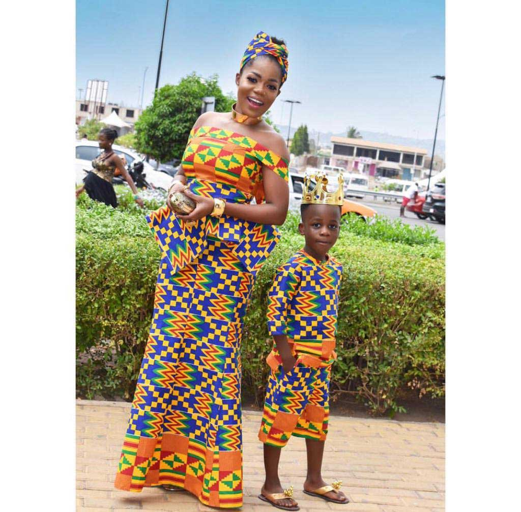 Mzbel and Son - How Ghanaian celebs celebrated Independence Day with gorgeous photos