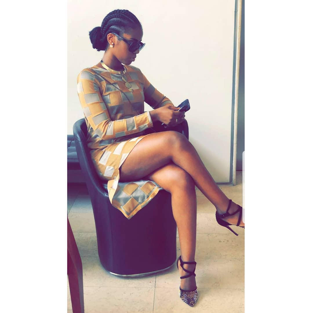 Mzvee - Mzvee bounces back but without any pregnancy signs in new photo