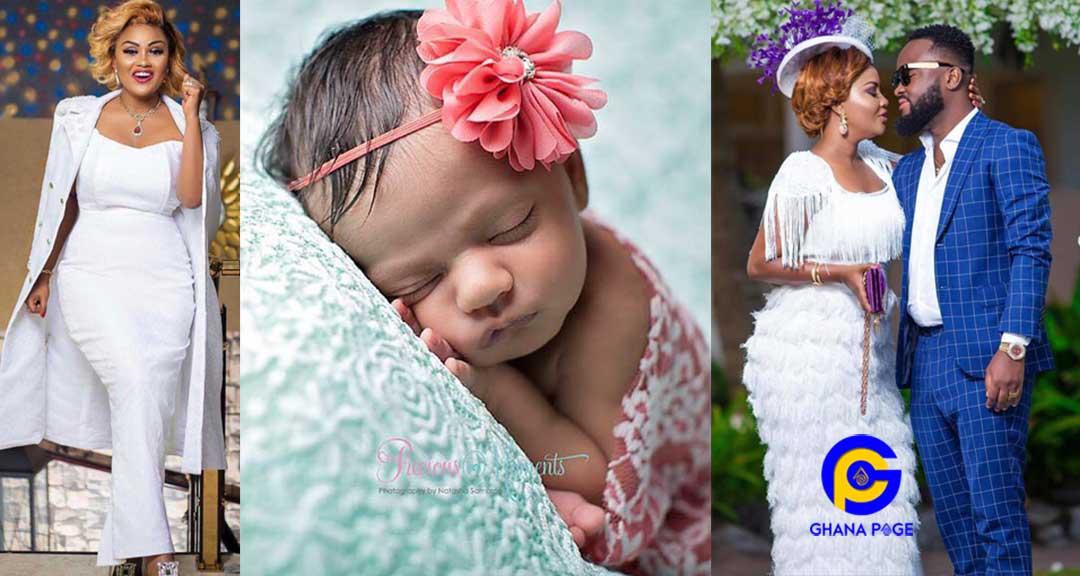 Nana Ama Mcbrown Baby - Nana Ama Mcbrown gives birth in Canada