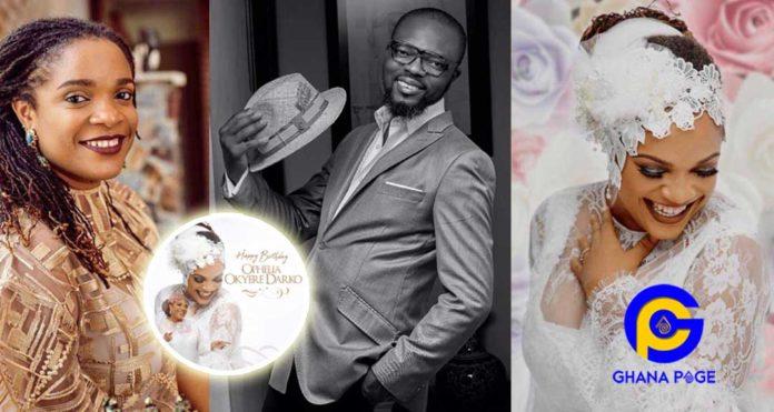 Photos:Kofi Okyere Darko (KOD) shares beautiful photos of his wife as she celebrates birthday today