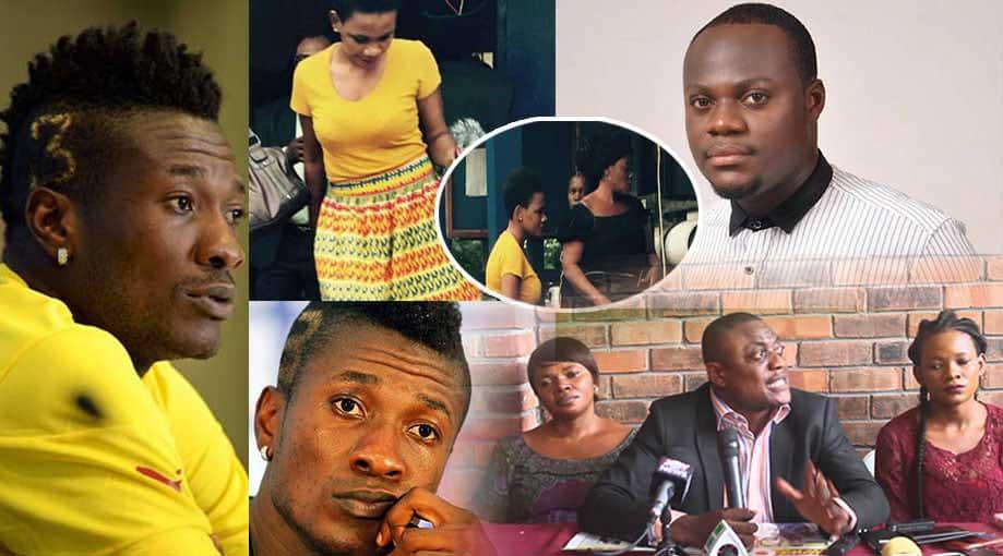 Osarfo Anthony Sarah Kwable Asamoah Gyan morris Ampaw - Asamoah Gyan slept with Sarah Kwablah till blood came-Osarfo Anthony
