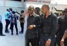 CCTV video of when Rev Owusu Bempah attacked Radio XYZ