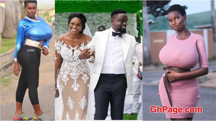Audio: I will sacrifice anything to be the 2nd wife of Sarkodie- Big B00Bs Pamela Odame Watara
