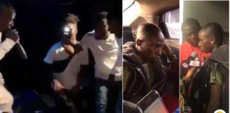 Angry Patapaa refused to talk to the press upon arrival at Kotoka