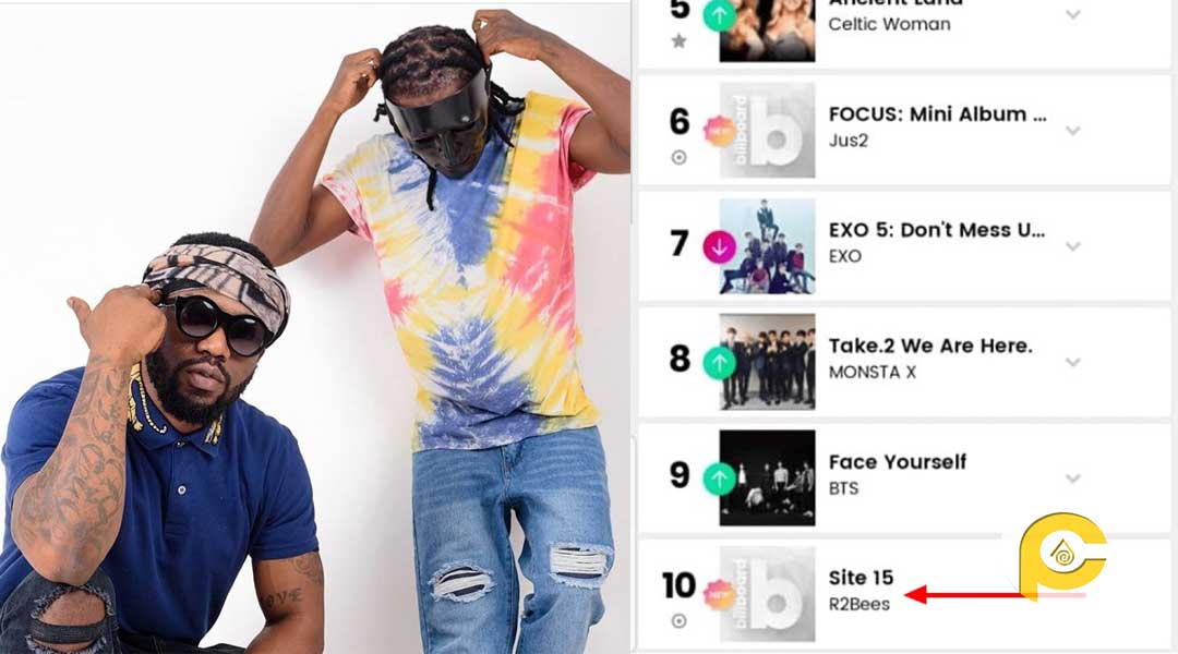 "R2Bees ""Site 15"" album makes it's way onto the Billboard chart"