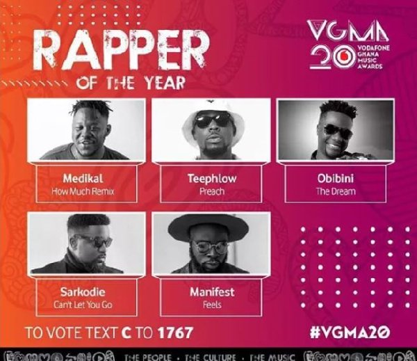 Rapper of the year - Strongman's manager blasts VGMA board for failing to nominate Strongman