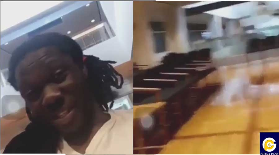 SHOWBOY JAIL - Showboy shares video of himself before going to prison