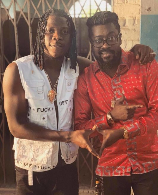 STONEBWOY BEENIE 533x660 - Stonebwoy chills with Sean Paul & other top stars in Jamaica