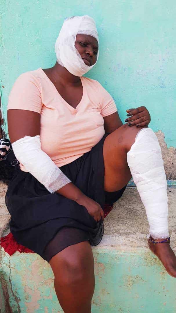 Safina Haroun - Popular Kumawood actress, Safina Haroun involved in an accident