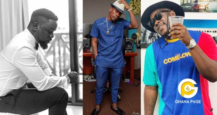 Full list of categories Sarkodie, Shatta Wale & Medikal has been nominated for at VGMA 2019