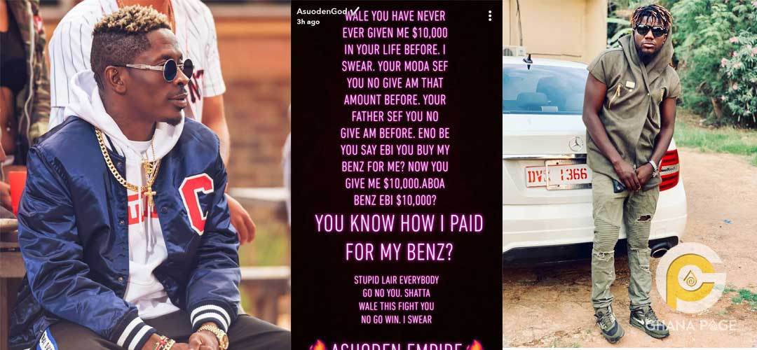 Shatta Pope skinny - Pope Skinny denies receiving $10K from Shatta Wale