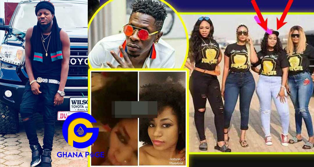 Shatta Wale BJ Blow Job Video - Pope Skinny blows cover of the married woman who gave Shatta Wale BJ