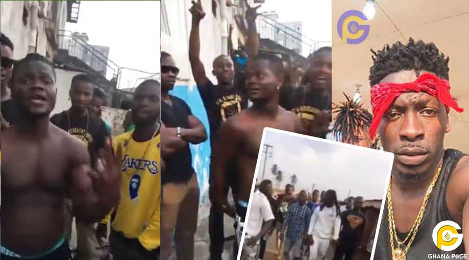 Shatta Wale Fans in Liberia - Shatta movement fans in Liberia eulogize,compose a song for Shatta Wale