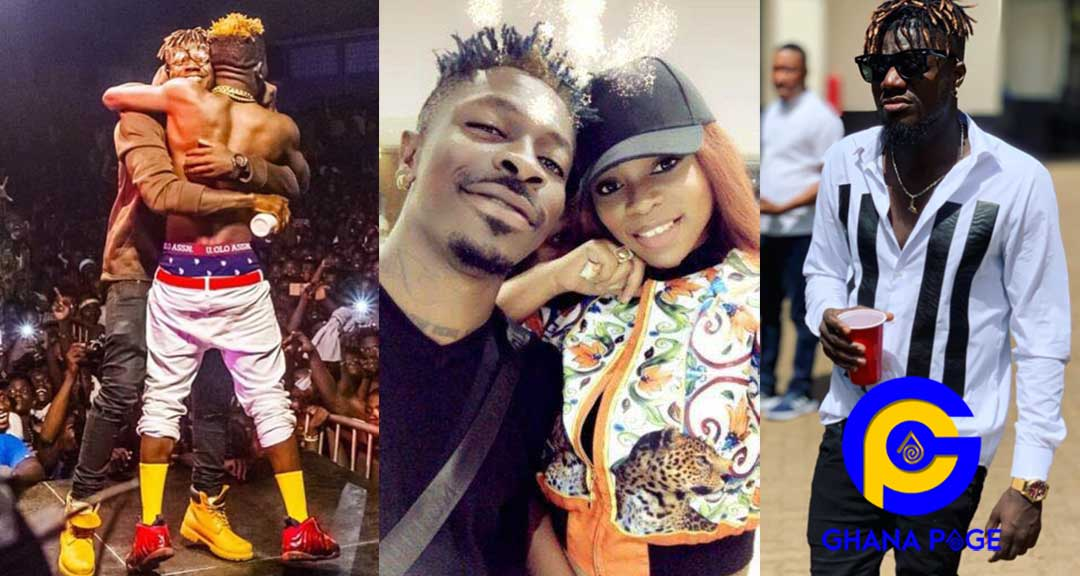 Shatta Wale Shatta Michy Pope Skinny - The real reason why Shatta Wale started beef with Pope Skinny exposed