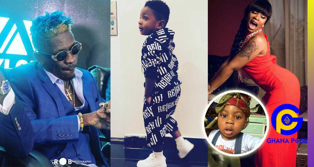 Shatta Wale and Michy Majesty - Who is the father of Majesty? – Social Media users ask Shatta Wale