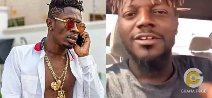 Shatta Wale and Pope Skinny 696x322 - Pope Skinny accuses Shatta Wale of sleeping with his own cousin