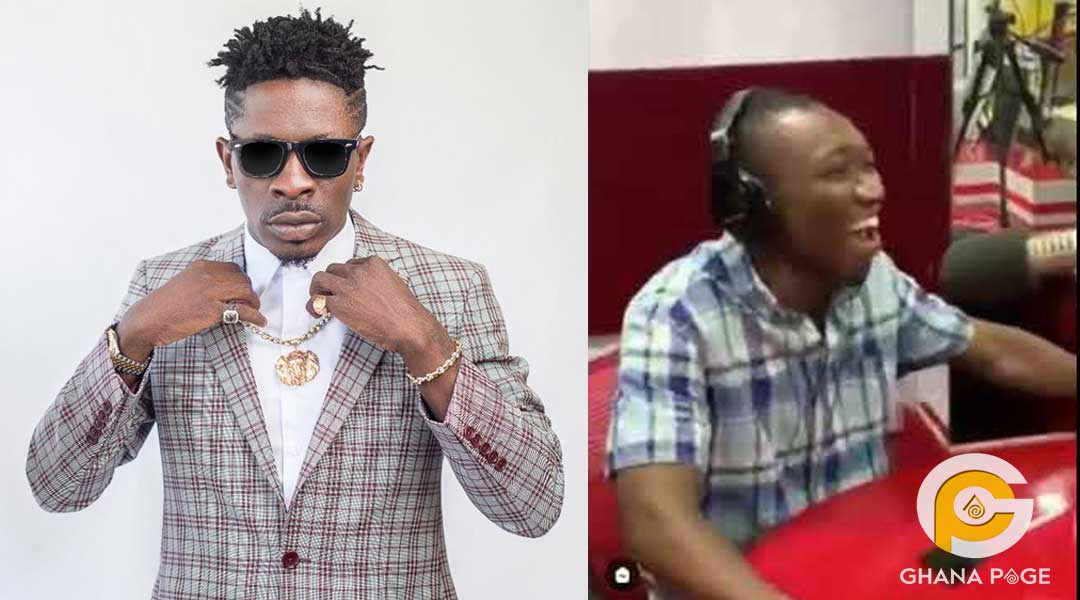 Shatta Wale presenter - Shatta Wale's songs nowadays looks like gari soakings – Radio presenter