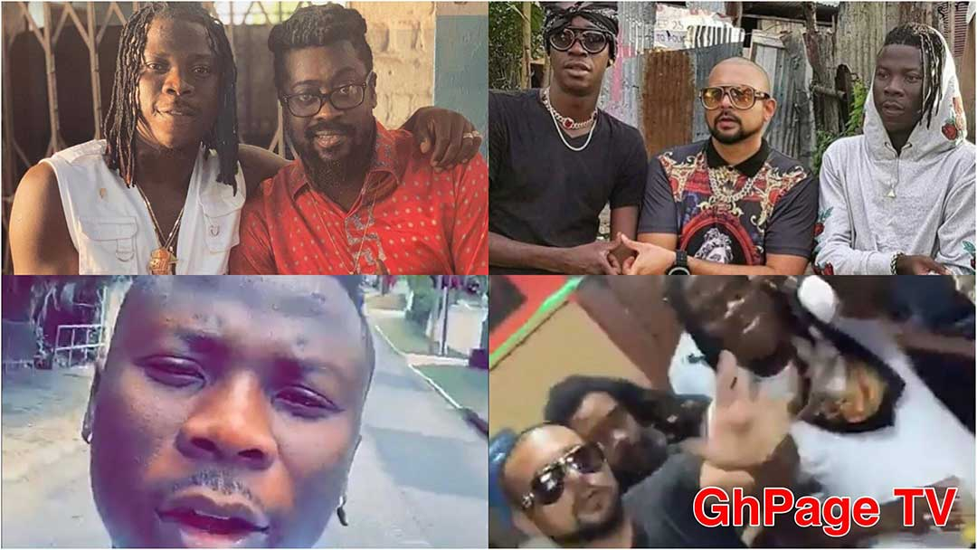 Stonebwoy chills with Sean Paul & other top stars in Jamaica