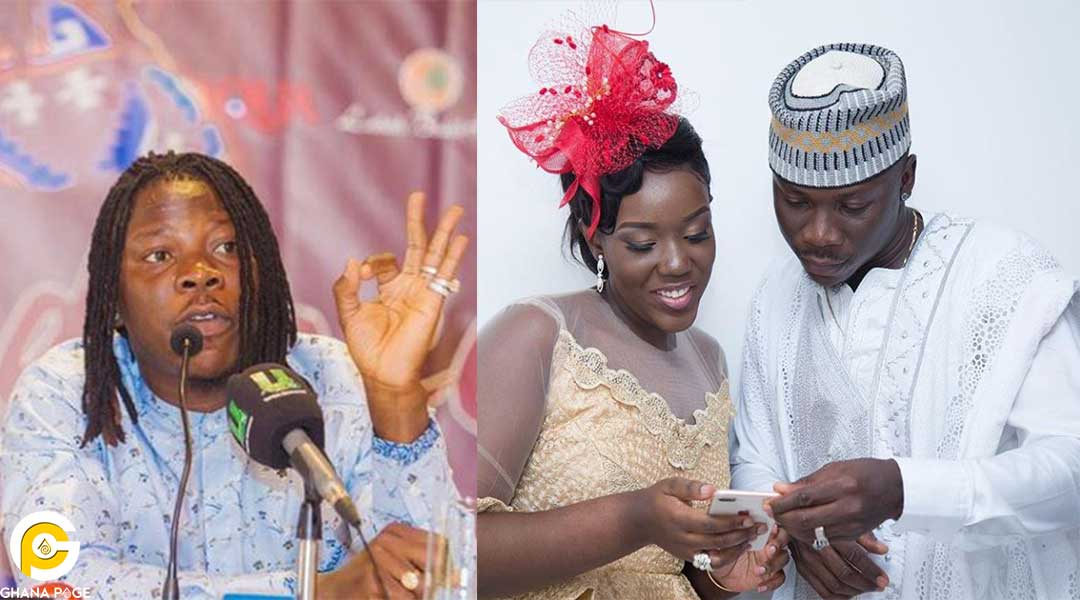 Stonebwoy Wife son - It's a boy! Stonebwoy confirms the birth of his second child
