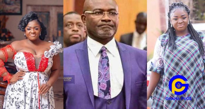 Video: Tracey Boakye calls for Ken Agyapong's trouble-Claims Ken doesn't have enough money