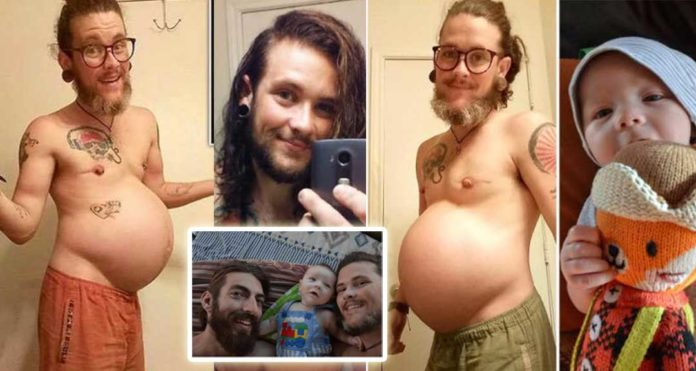 Transgender man gives birth to first son-talks about the insults he received during the pregnancy