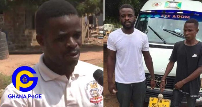 Video: He punched me several times first- Trotro driver who beat the policeman explains why he did it