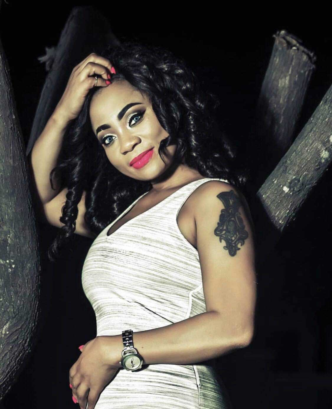 Vicky Zugah 2 - Vicky Zugah exposes chat of a man begging to chop her Tonga