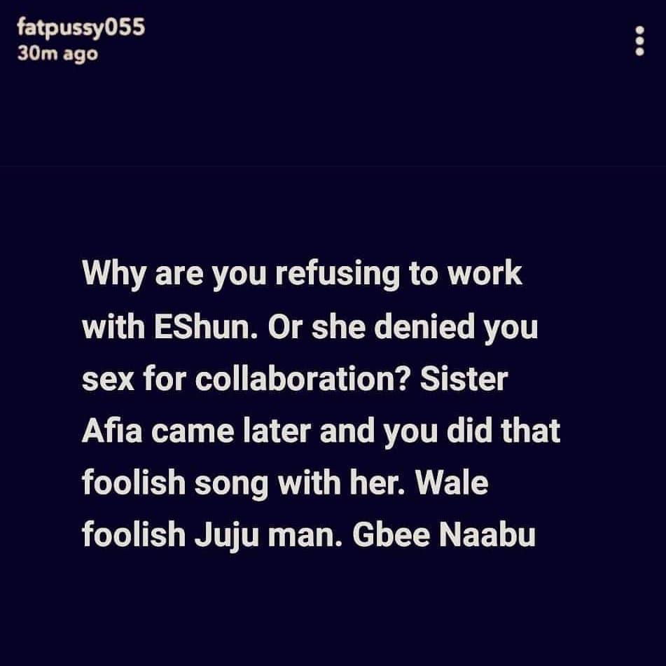 eshun shatta wale 1 - Shatta Wale's deep secret exposed by Snapchat user