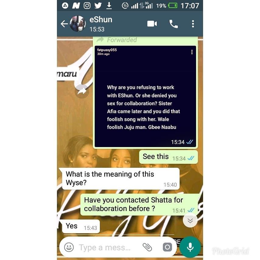 eshun shatta wale - Shatta Wale's deep secret exposed by Snapchat user