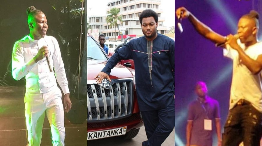 stonebwoy kantanka - Stonebwoy receives brand new Kantanka car as a birthday gift