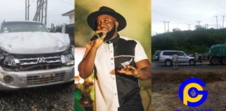 Rapper Trigmatic involved in a near-death accident [See Photos]