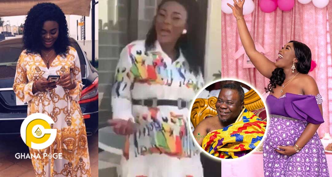 Dr. Kwaku Oteng's 4th wife dances seductively with her 9 month pregnancy